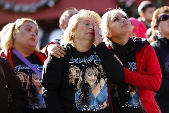 Jenni Rivera Memorial Recap: Rivera's Family Remembers 'La ... Jenni Rivera Funeral Services